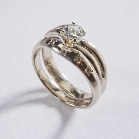 Carly's Bridal Celebratory Ring