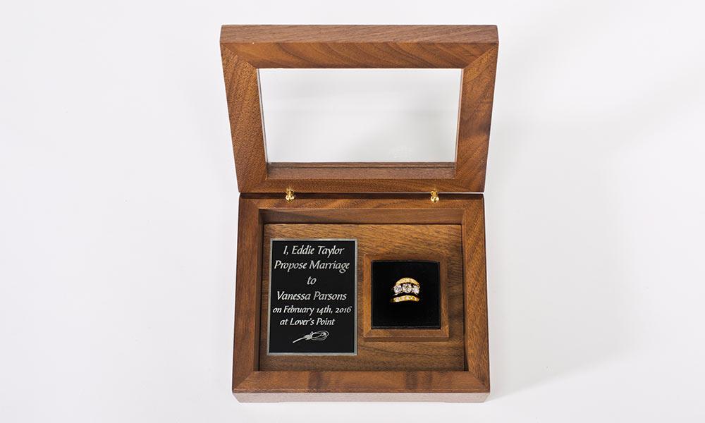 Love Collection Walnut Box