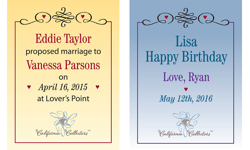 Love Collection Plaques