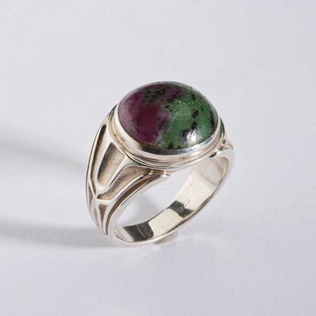 Sterling Silver Zoisite