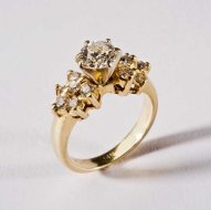 Dee Dee's Diamond Engagement Ring